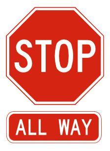 amerykanski znak stop